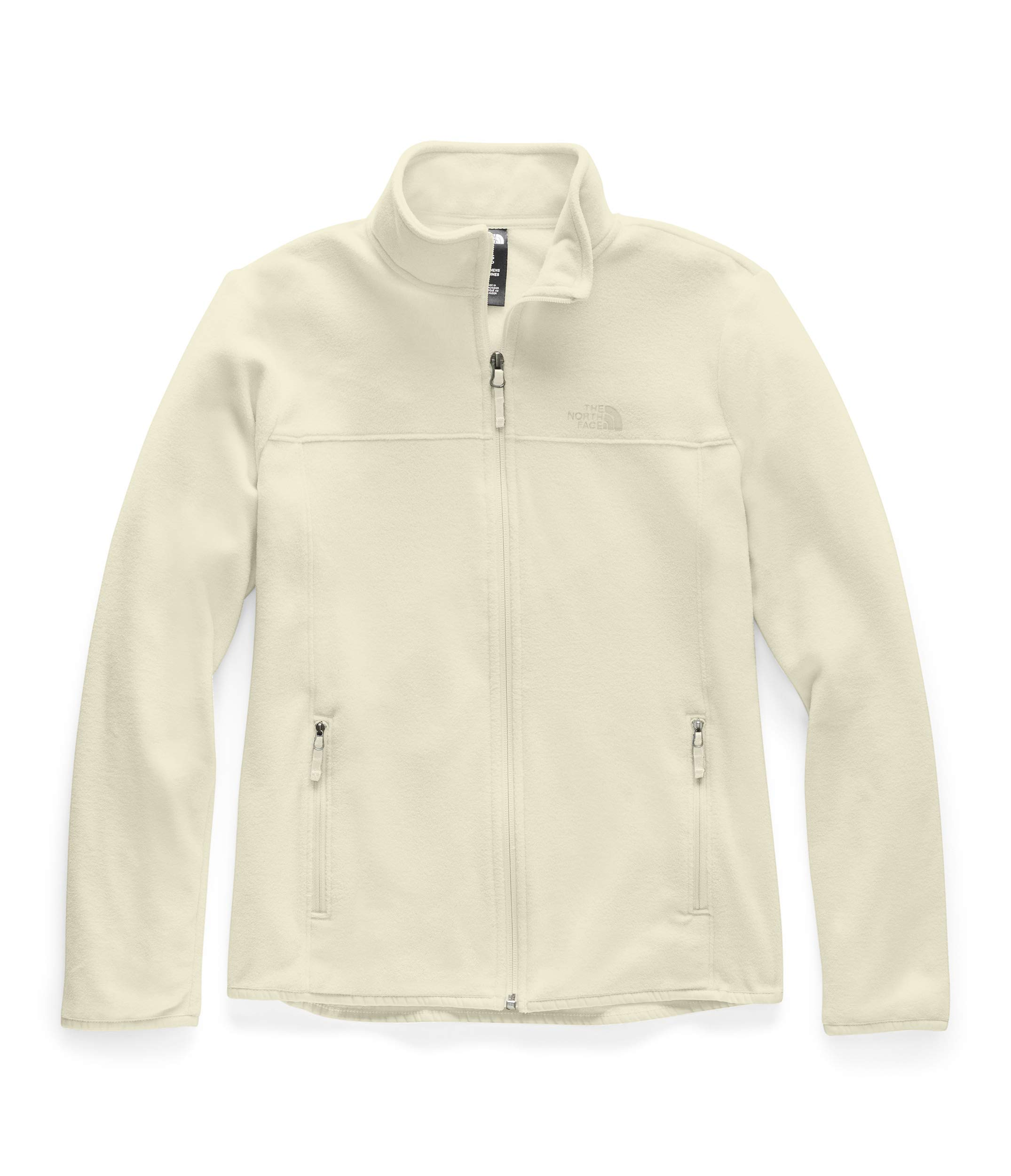 The North Face Women's TKA Glacier Full Zip Jacket, Vintage White/Vintage White, S by The North Face