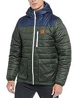 Reebok Classics Men's Padded Mid Hooded Jacket