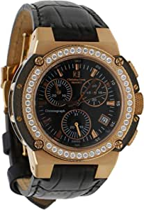 Christian Geen Analog Watch For Men - Leather, Black - 4825Glsw-Wh