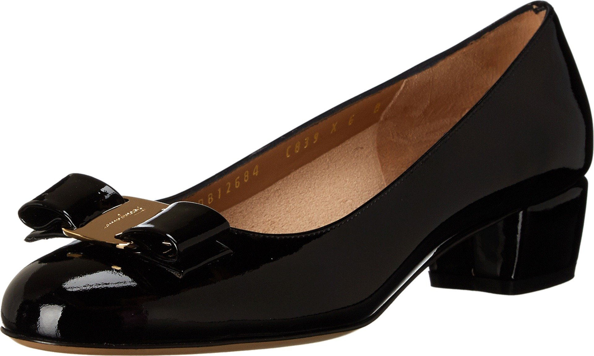Salvatore Ferragamo Women's Vara 1 Nero Pump