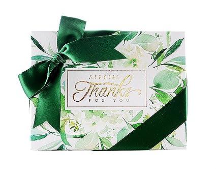 Amazon Com Autulet Fresh Bridesmaid Gift Boxes Elegant Candy