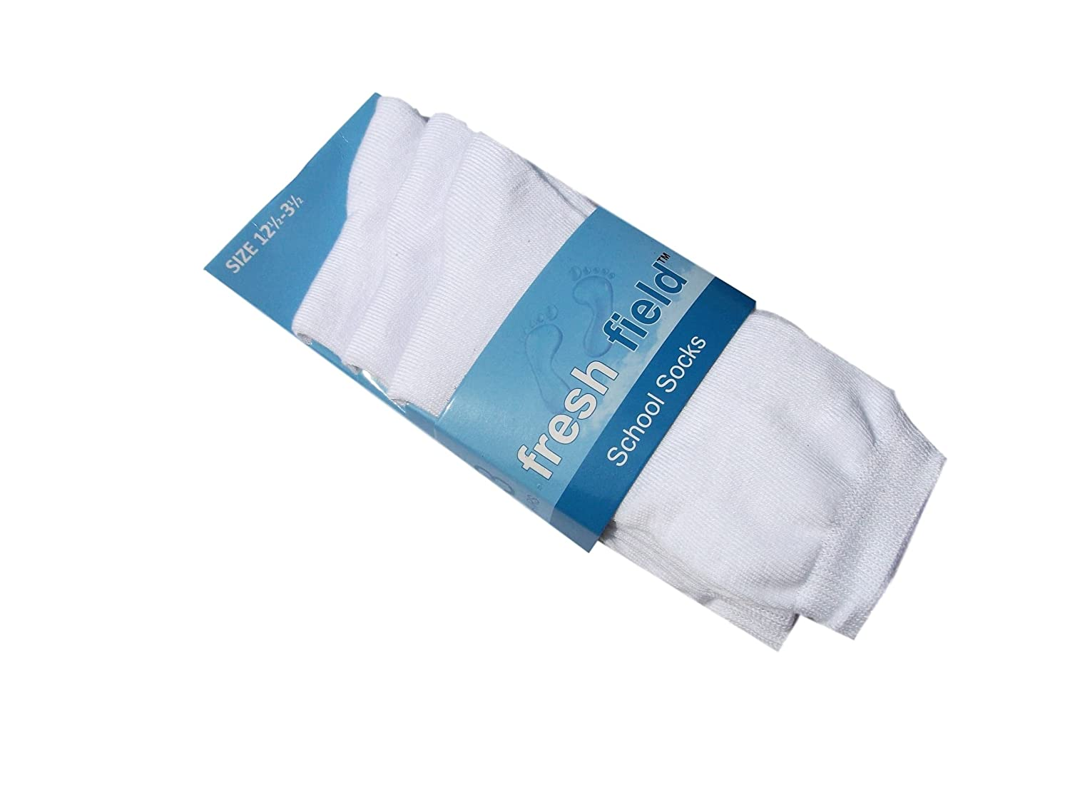e70077cf54593 6 PAIRS BOYS/GIRLS SHOE SIZE 12.5-3.5 COLOURED 65% COTTON ANKLE SCHOOL SOCKS  AVAILABLE IN 4 COLOURS (White): Amazon.co.uk: Clothing