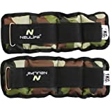 Neulife Camouflage 1 kg x 2 pc (net Weight 2kg) Ankle & Wrist Weight