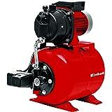 Einhell Groupe de surpression GC-WW 6538 (650 W, Débit max. 3.800 l/h, Hauteur de refoulement 36 m, Hauteur d'aspiration 8 m, Réservoir de pression de 20 litres, Pression de démarrage max. 1,5 bar, Pression d'arrêt max. 3 bar, Livré avec manomètre)