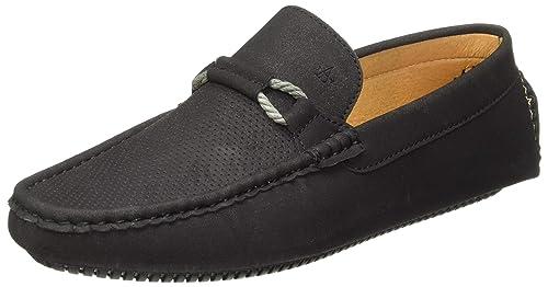 pretty nice authentic size 40 Buy Arrow Men's Astle Black Loafers-8 UK/India (42 EU) (2521903105 ...