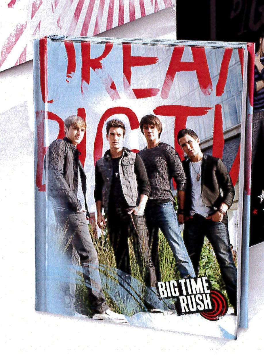 Diario Pocket Grigio Big Time Rush ACCADEMIA