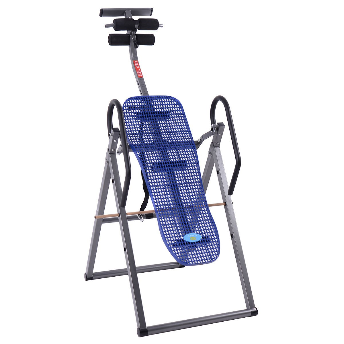 New Foldable ABS Inversion Table Gravity Therapy Back Pain Fitness Reflexology Blue by MTN Gearsmith (Image #6)