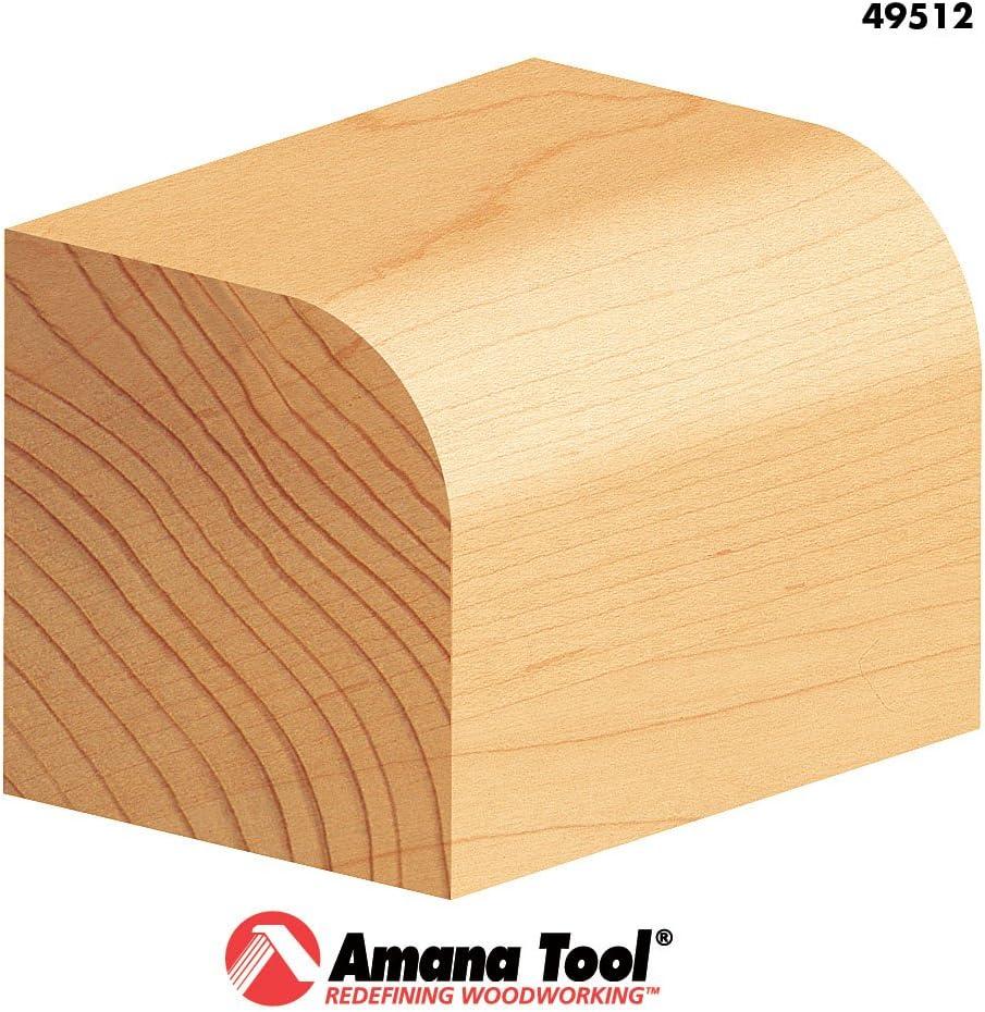 Amana Tool 49512 Carbide Tipped Corner Round 3//8 Radius x 1-1//4 Dia x 5//8 x 1//4 Sha