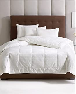 hotel collection primaloft all season down alternative king comforter white