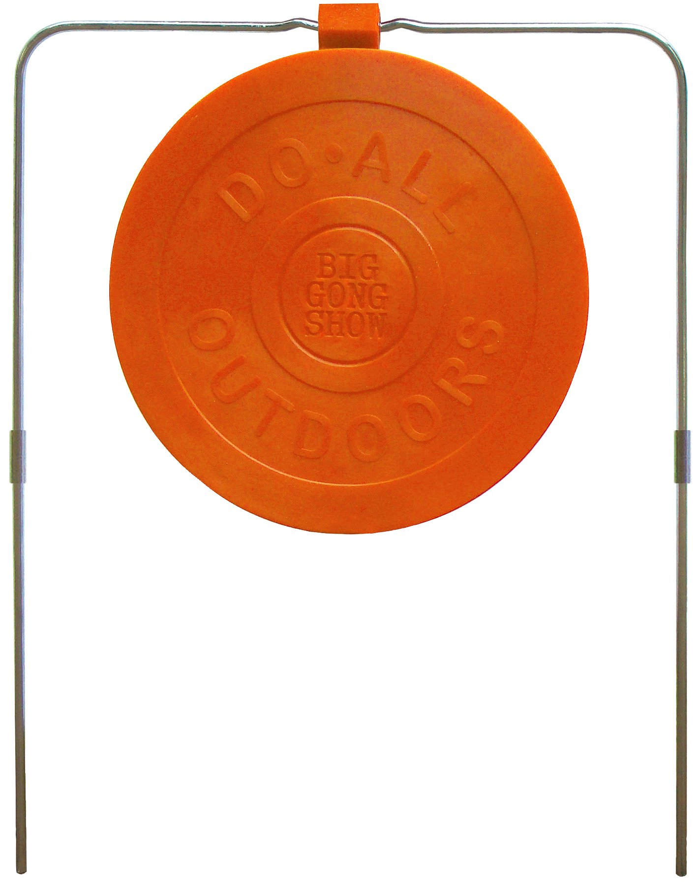 Do-All Outdoors - Big Gong Show 9'' Self-Healing Target, Rated for .22- .50 Caliber