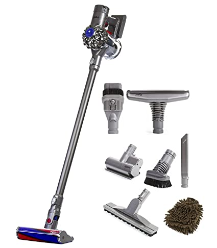 Image of: Cord Free Image Unavailable Image Not Available For Color Dyson Animal V6 Fluffy Cordless Vacuum With Attachments Amazoncom Amazoncom Dyson Animal V6 Fluffy Cordless Vacuum With Attachments