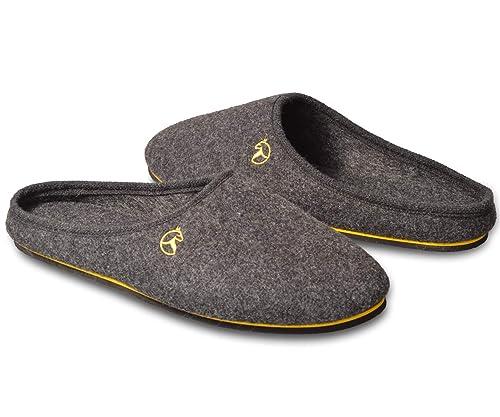 6f8c1d708434d ESTRO Pantofole Ciabatte Uomo Casa Pantofola Ciabatta Vera Feltro ...