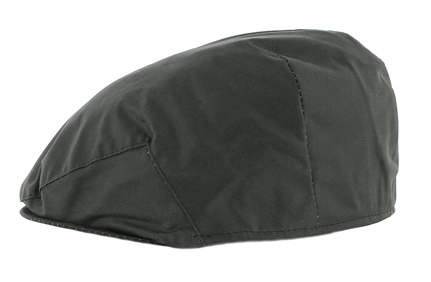 The Hat Company Mens Wax Flat Cap with Thinsulate Lining (7509)