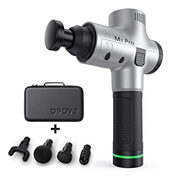 OPOVE M3 Pro Massage Gun Deep Tissue Percussion Muscle Massager for Pain Relief