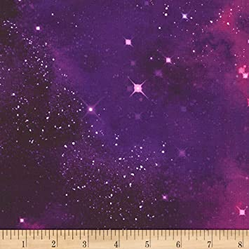 1ea4f09292d Image Unavailable. Image not available for. Color: Timeless Treasures  Jersey Knit Galaxy Stardust Fabric ...