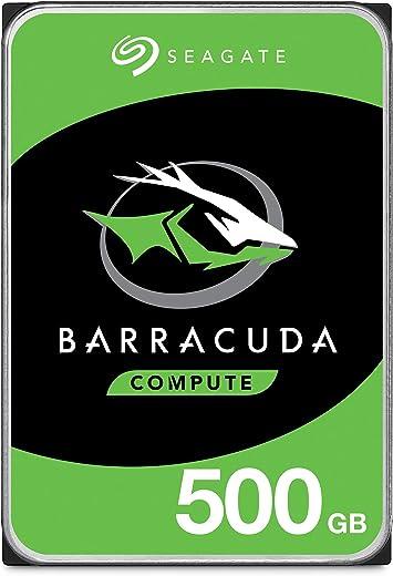 القرص الصلب سيجيت باركودا 500 جيجابايت - 3.5 انش ساتا 6 جيجابايت/ثانية 7200 دورة في الدقيقة 32 ميجابايت كاش للكمبيوتر المكتبي (ST500DM09)