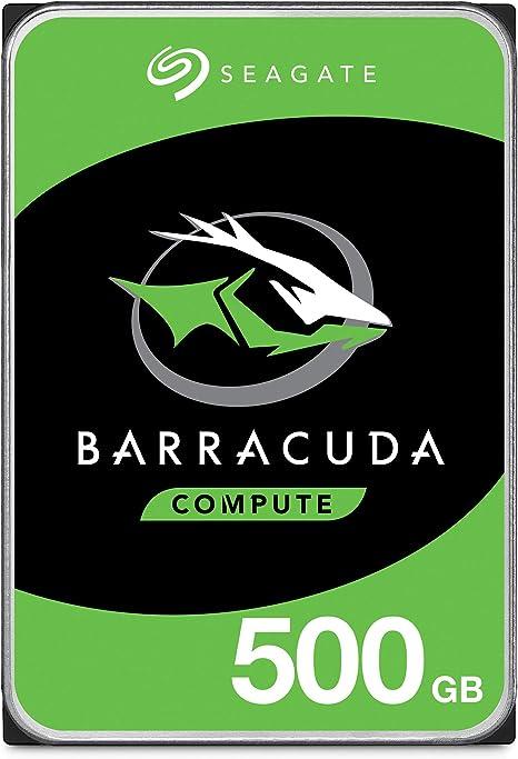 Seagate Barracuda 500GB SATAIII 500GB SATA - Disco Duro (0-60 °C ...