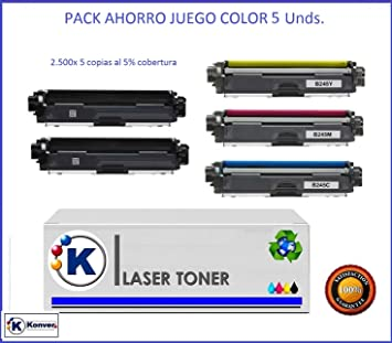 TN241/ TN245.Set 5 Toner Compatible Brother TN245/ TN242/ TN246 ...