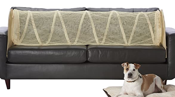 amazoncom couch defender couch defender keep pets off of your furniture beige couch defender pet supplies