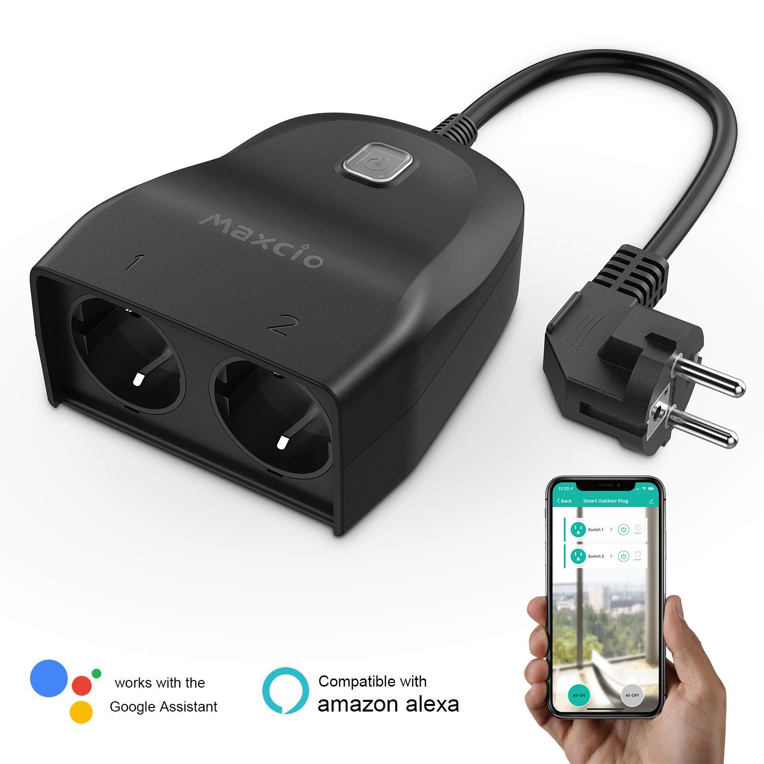 Maxcio Outdoor Smart Plug - EU Version