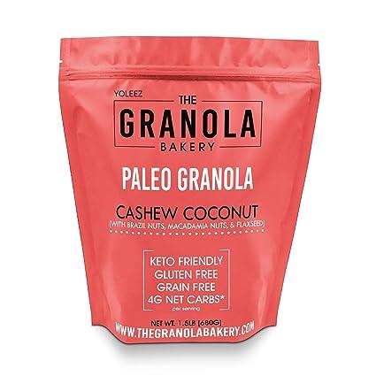 Trozos de granola ELAN original, mezcla de frutos secos y ...