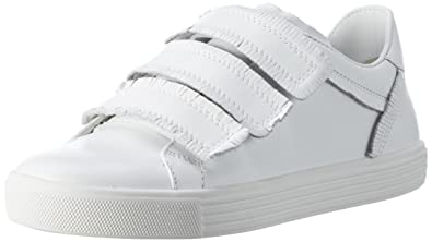 Kennel und Schmenger Schuhmanufaktur Damen Town Sneaker, Schwarz (Black Sohle Weiss), 39 EU (6 UK)