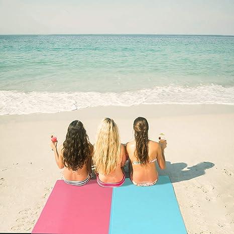 bedee Toallas de Playa,Toalla Playa Fijo para la Playa, Picnic ...