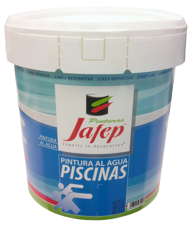 JAFEP Piscinas Clorocaucho Sport Azul 4 L.