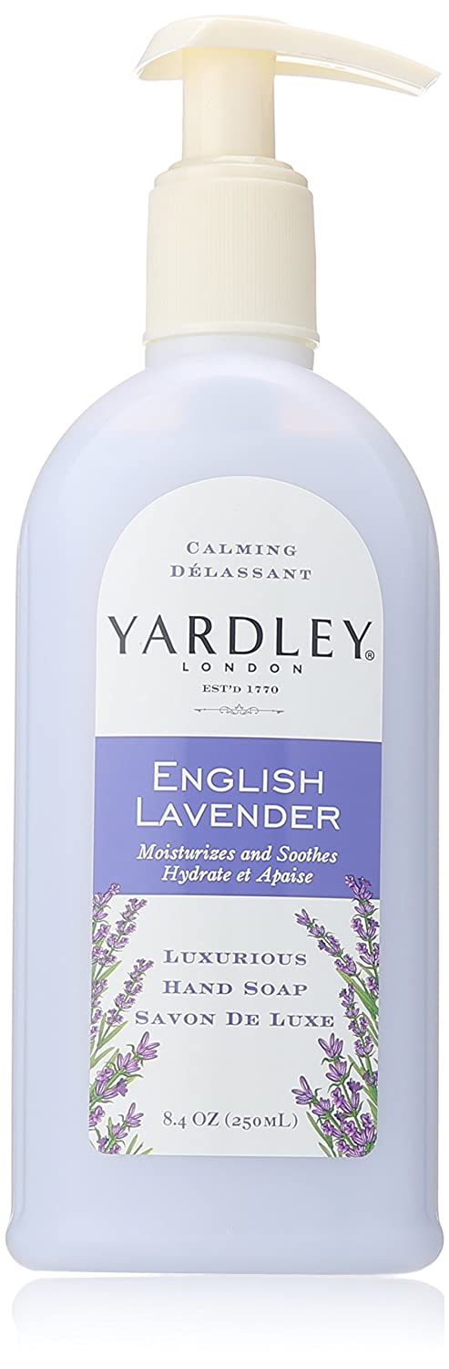 Yardley London English Lavender Hand Soap, 8.4 oz (Pack of 3) LornaMead