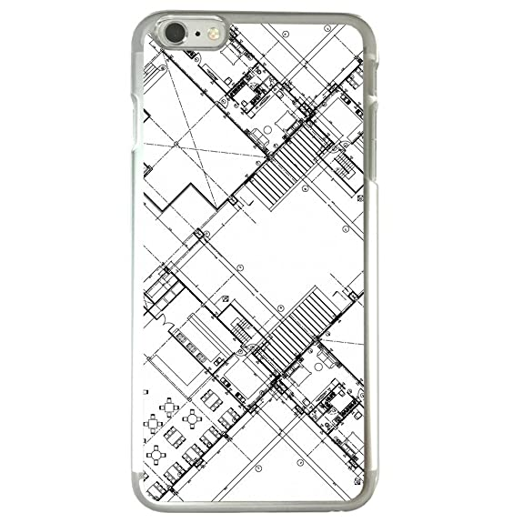 Amazon image of architecture blueprint drawing of a building image of architecture blueprint drawing of a building plans apple iphone 6 plus 6s plus malvernweather Image collections