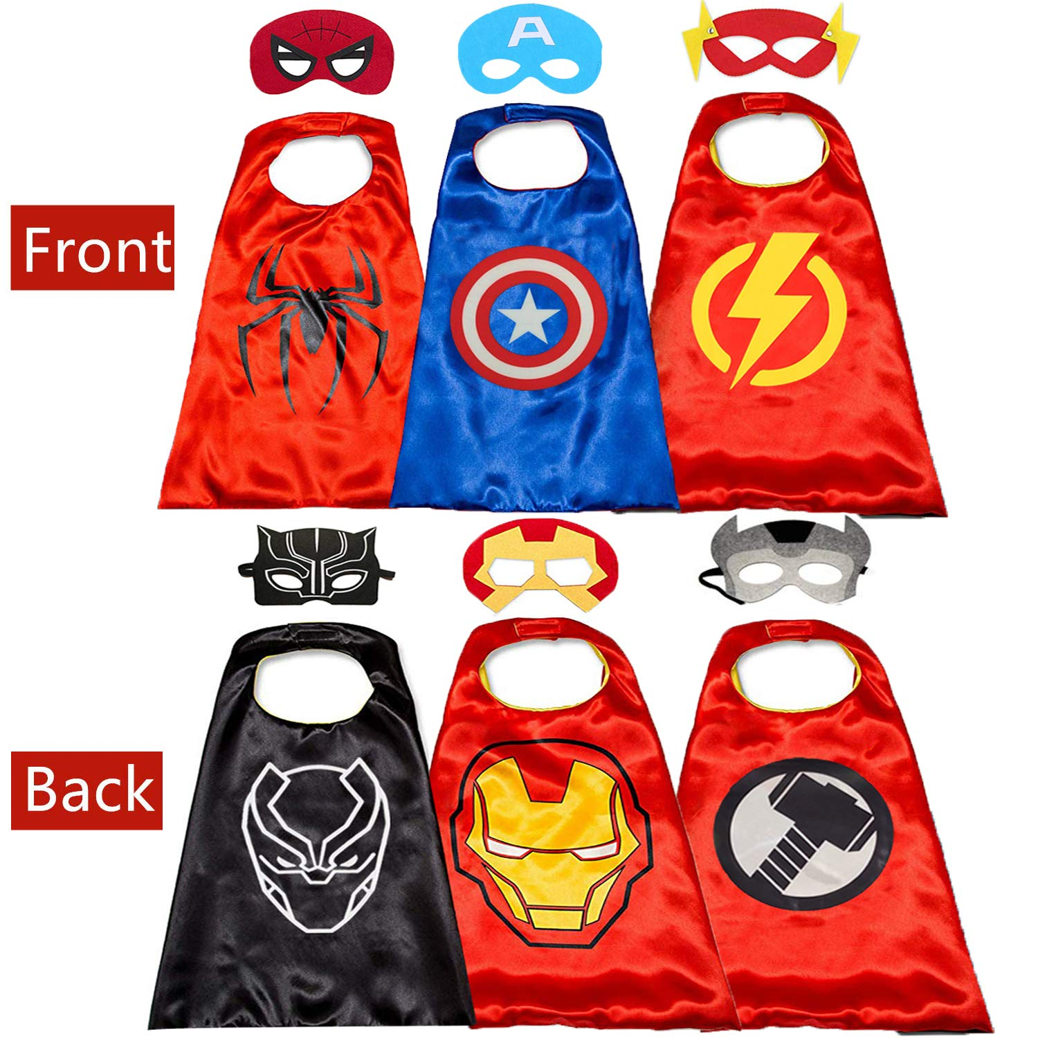 Kids Halloween Super Hero Spiderman Costume Fancy Dress Cosplay Party Xmas Gift