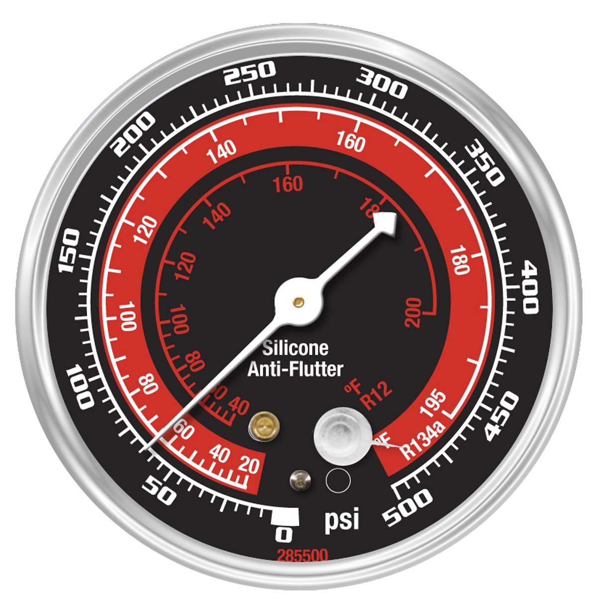 OEMTOOLS 24530 Replacement Gauge High Side for A/C Manifold