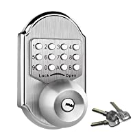 Voltstorm Elemake Stainless Steel 304 keyless Entry Door Lock Deals
