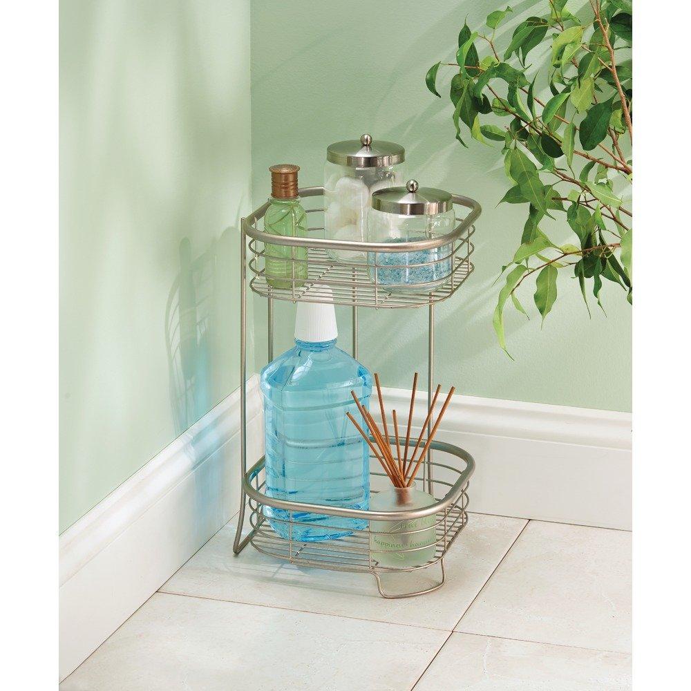 Amazon.com: InterDesign Forma Free Standing Bathroom or Shower ...