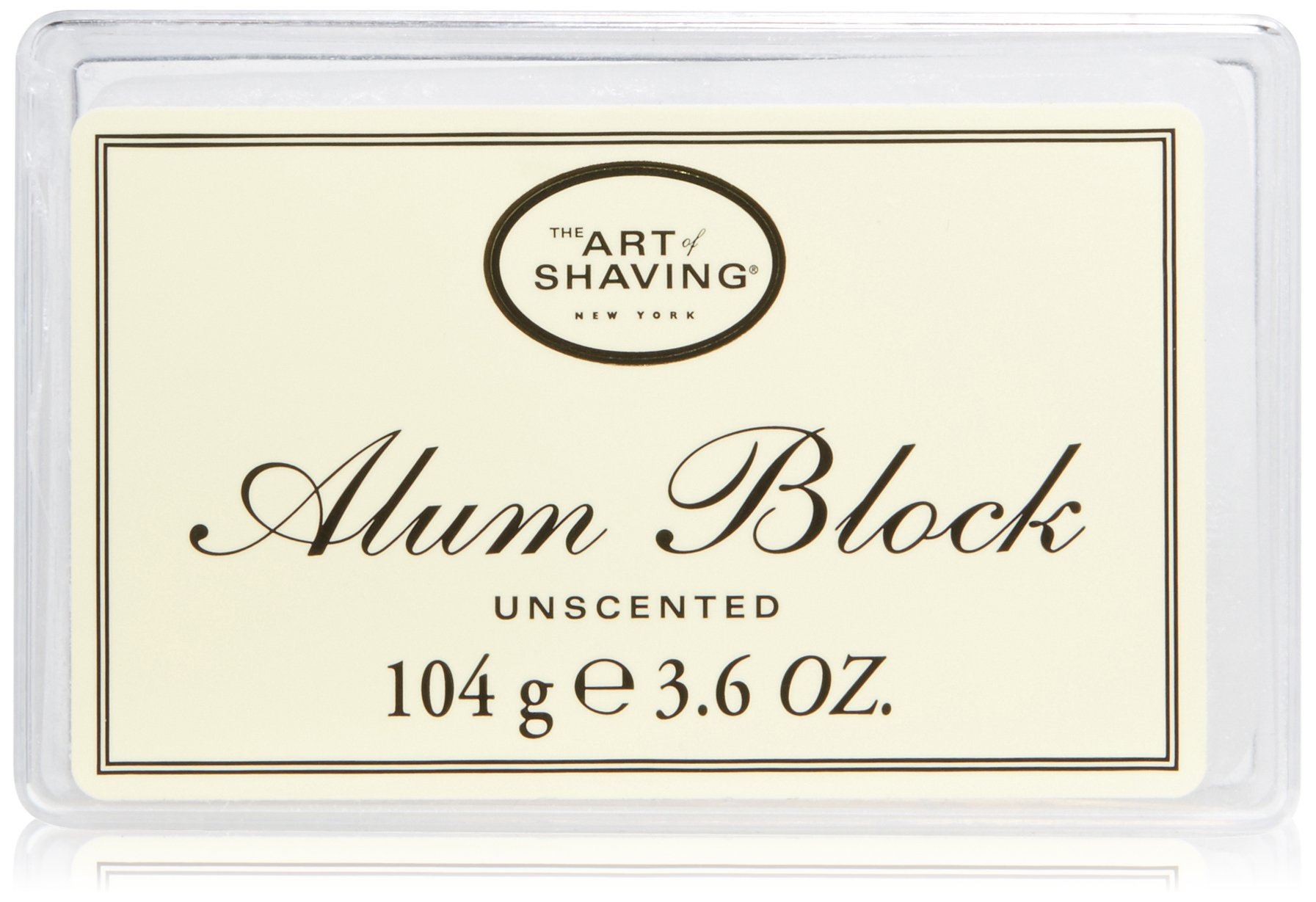 The Art of Shaving Unscented Alum Block, 0.29 lb. by The Art of Shaving