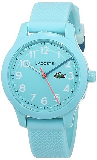 Lacoste Reloj Análogo clásico para Niños de Cuarzo con Correa en Silicona 2030005: Amazon.es: Relojes