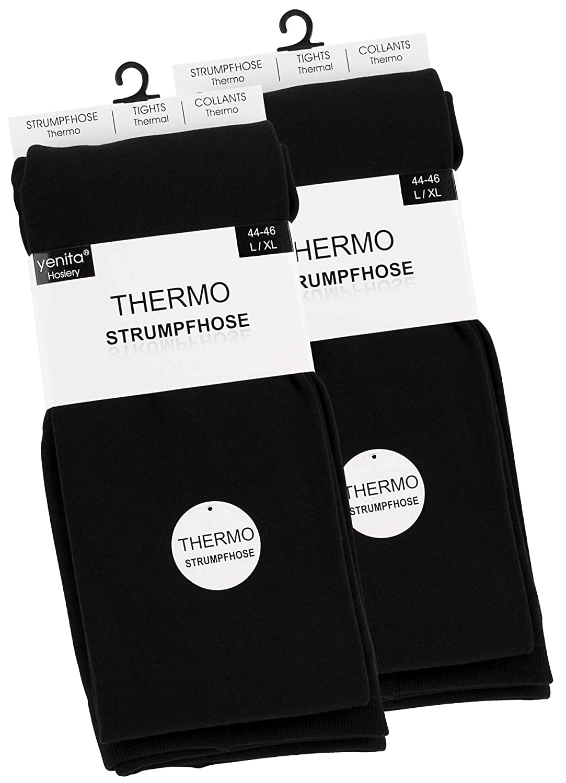 2 pack Medias térmicas para mujeres mullido franela caliente ...