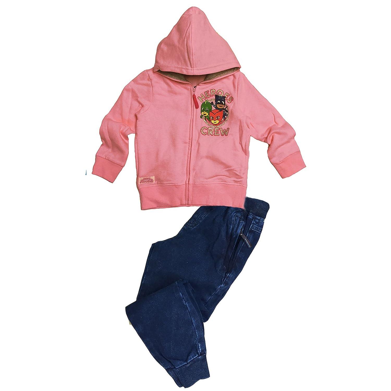 Felpa +Jeans SUPER PIGIAMINI Rosa1) gggggggg