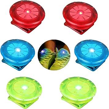 2x LED Blinklicht Rot Schulranzen Licht Blinklicht Kinder Joggen Sichtheitslicht