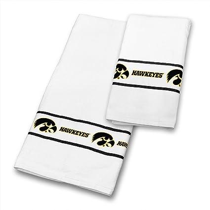 Iowa Hawkeyes 4 pc juego de toallas incluye: (2 toallas de ducha, 2