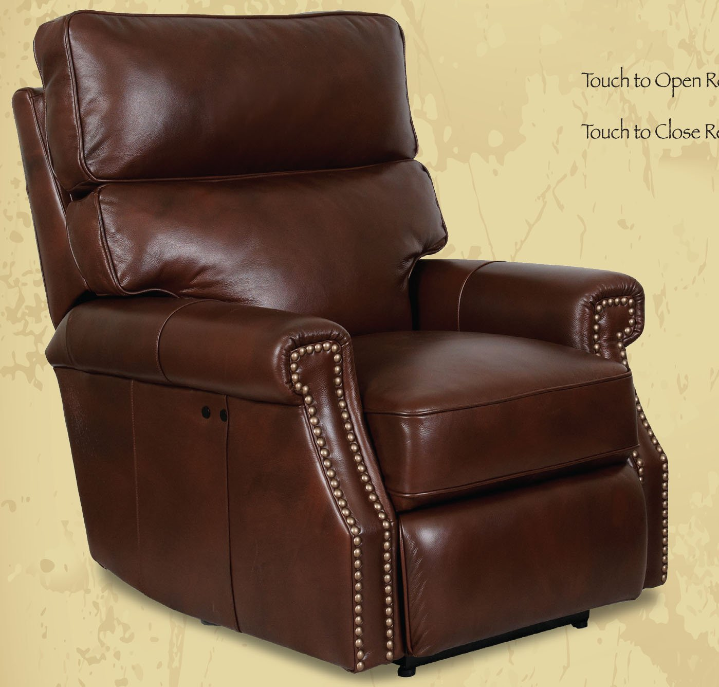 Amazon.com Barcalounger Power Electric Recline Lochmere II Recliner Lounger Chair Broughton Saddle Leather Kitchen u0026 Dining : barcalounger sectional - Sectionals, Sofas & Couches