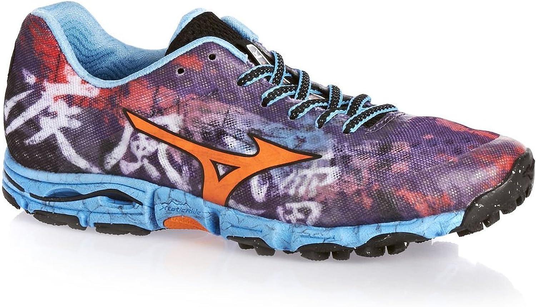 MIZUNO Wave Hayate Ladies Zapatilla de Trail Running Señora, Púrpura/Naranja, 40: Amazon.es: Zapatos y complementos
