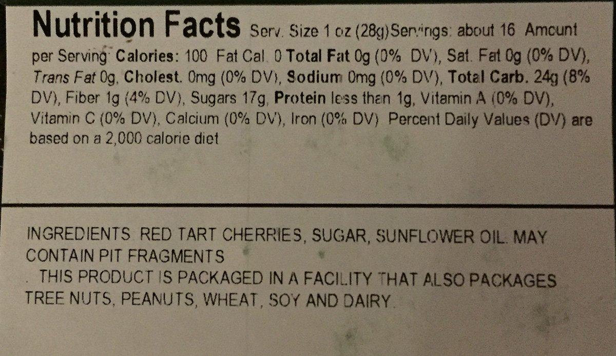 Jansal Valley Dried Cherries, 1 Pound by Jansal Valley (Image #4)