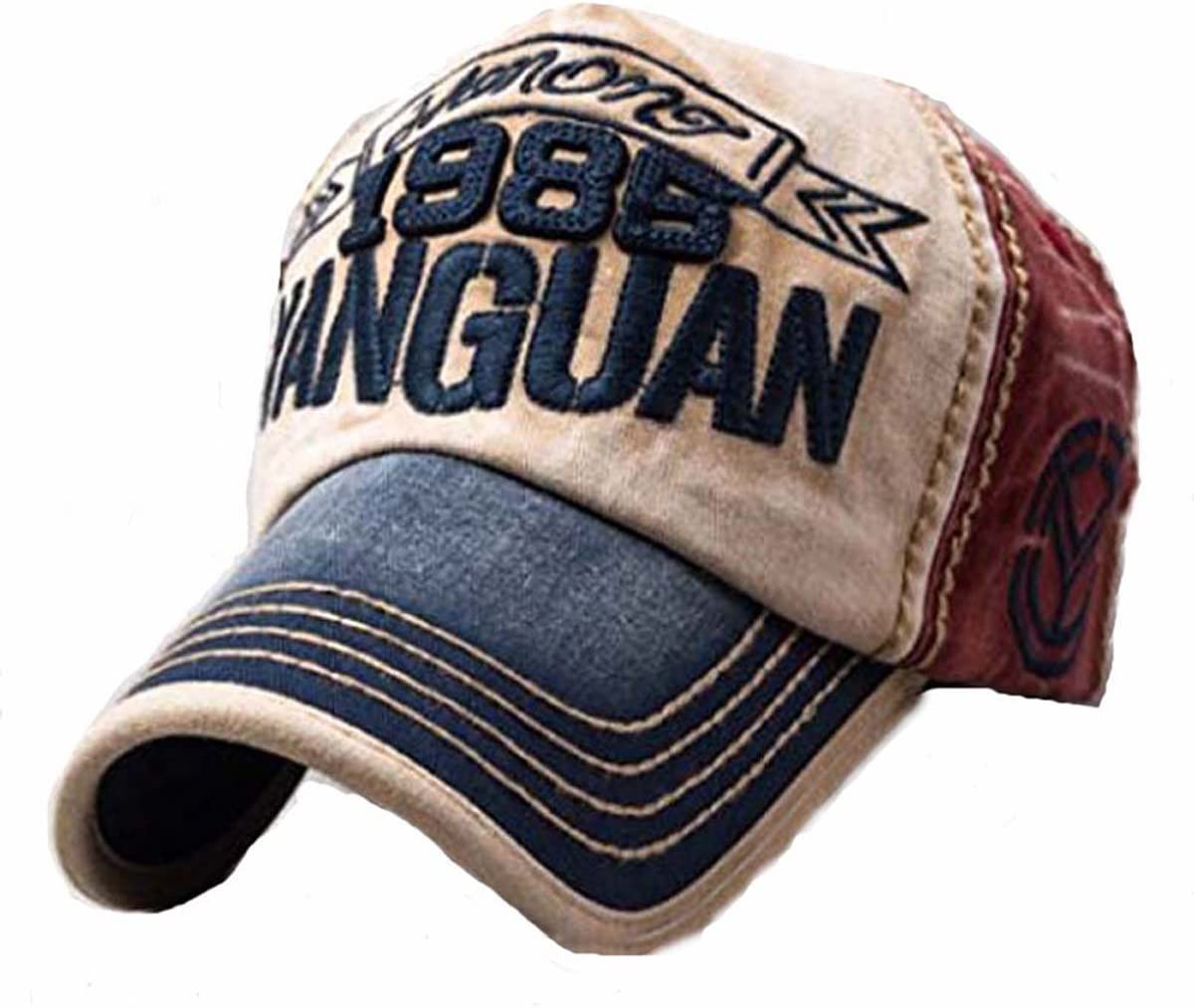 Sun Hat Gorra de béisbol Vintage con Aspecto gastado, Tipo ...