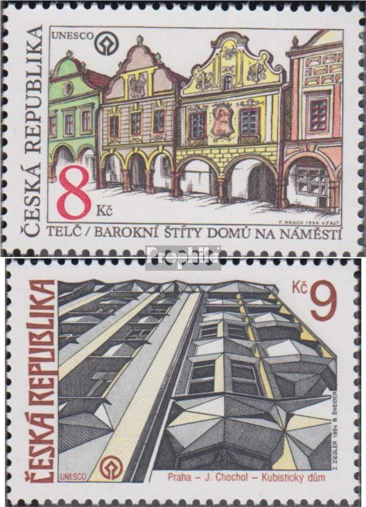 1994 Heimat Prophila Collection Tschechien 39-40 kompl.Ausg. Briefmarken f/ür Sammler