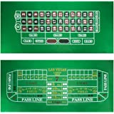 Craps and Roulette Table Felt by Brybelly