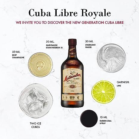 Matusalem Ron Matusalem 15 Solera Gran Reserva Rum 40% Vol. 0,7l in Giftbox - 700 ml