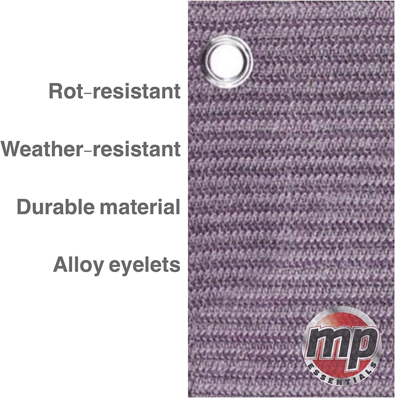 MP Essentials Tapis de sol tiss/é pour tente et auvent r/ésistant /à la pourriture Prune et gris