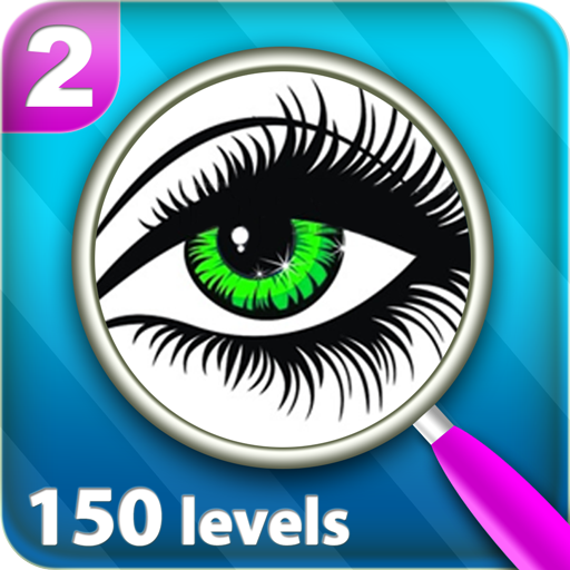 Find Differences 150 levels 2 - Glasses Try App