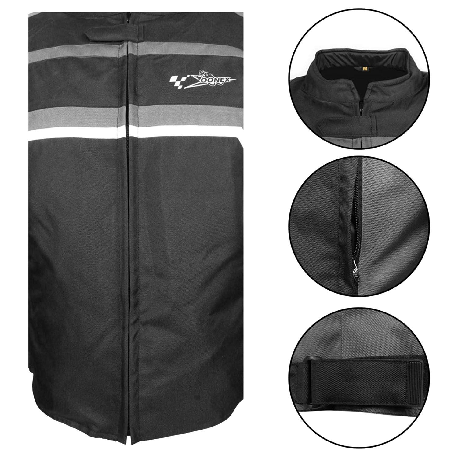 XS, Black//Gray Motorbike Motorcycle Jackets for Mens Biker Sports Accessories Cordura Fabric Summer New Look Black Jacket with CE Removable Armour with 100/% Best Fitting for Motorbike Riders
